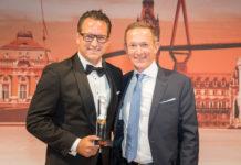 """JDC Vorstandsvorsitzender, """"Head of the Year"""", Dr. Sebastian Grabmaier und Cash.-Vorstand Gerhard Langstein."""